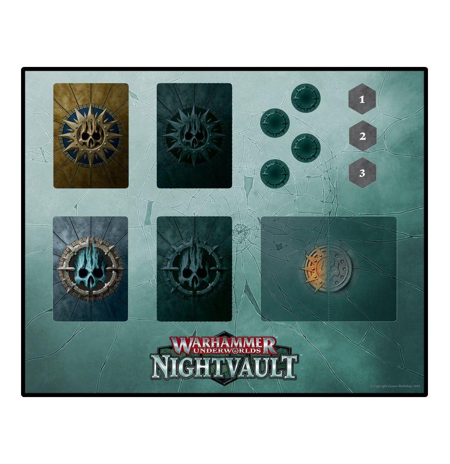 Warhammer Underworlds Nightvault Playmat