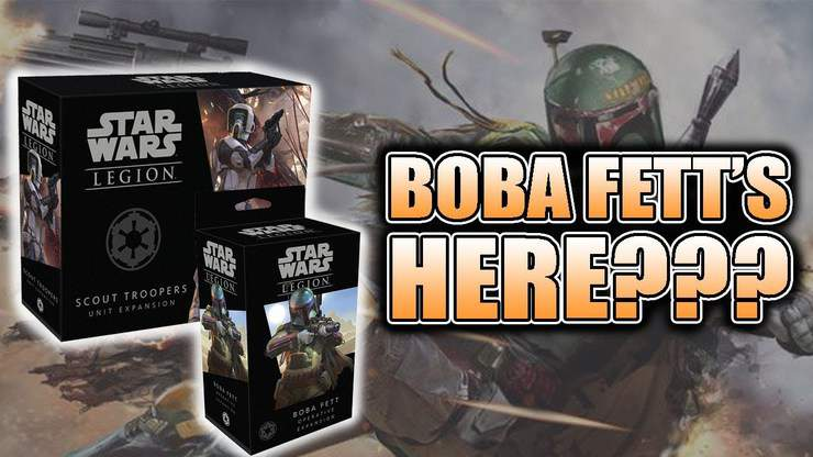 Boba Fett + Imperial Scouts Unboxing & Build: Star Wars Legion