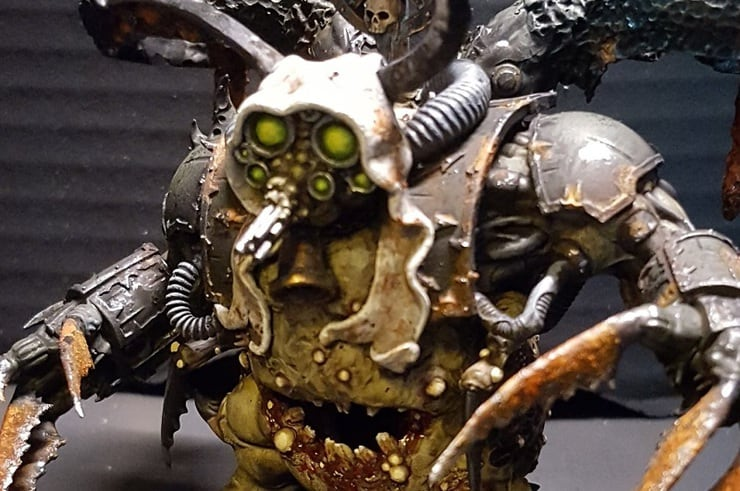 Nurgle Deamon Prince Conversion