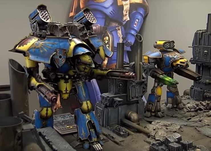 40k reaver titan rules
