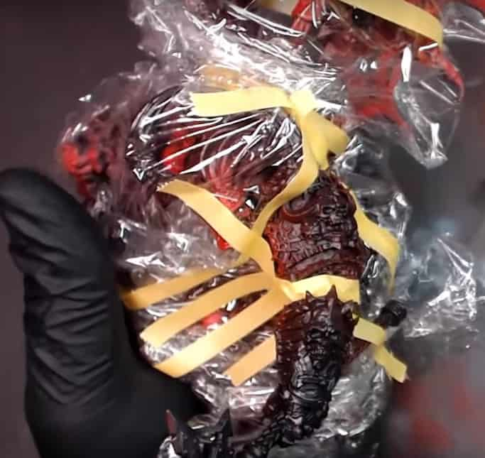masking with cling wrap Don't Wreck Your Paint Job: Masking Miniatures Easliy
