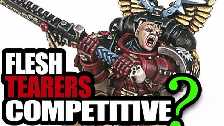 Flesh Tearers Vs. Imperial Guard & Custodes: 8th 40k