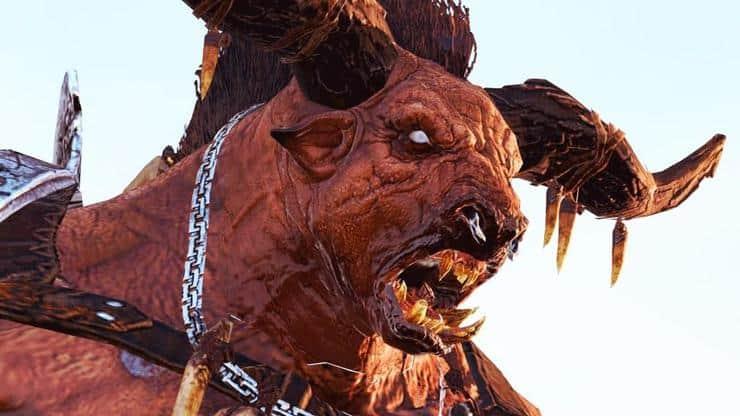 minotaur beast of chaos warhammer