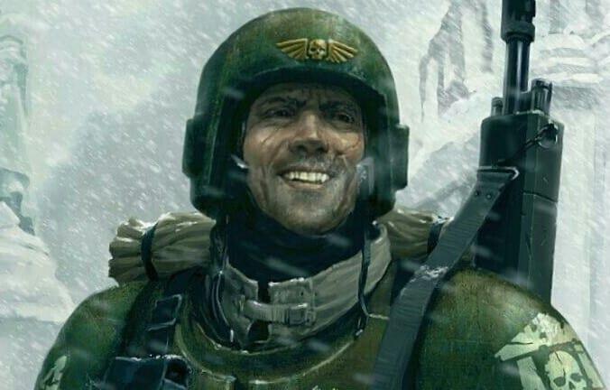 super happy guardsman wal hor