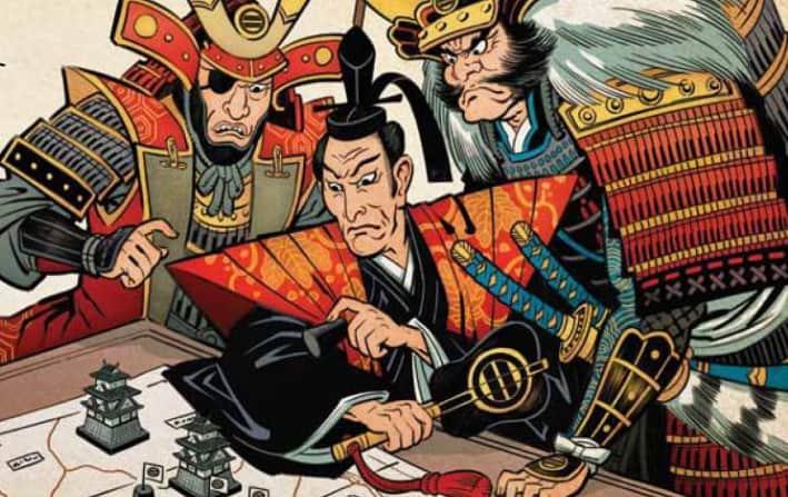 Gunkimono: Japanese War Themed Tile Laying Game