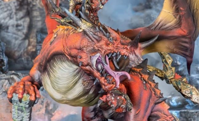 Ginormous Khorne Dragon Finally Comes To Pre-Order!