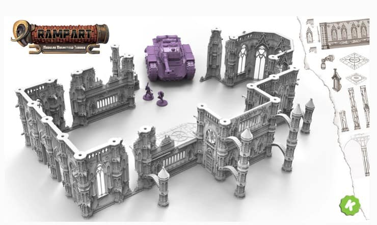 The Next Big Thing For Miniature Terrain Is Here! - Spikey Bits