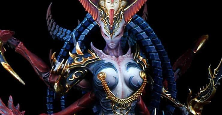 Queen of Ecstasy Creature Caster