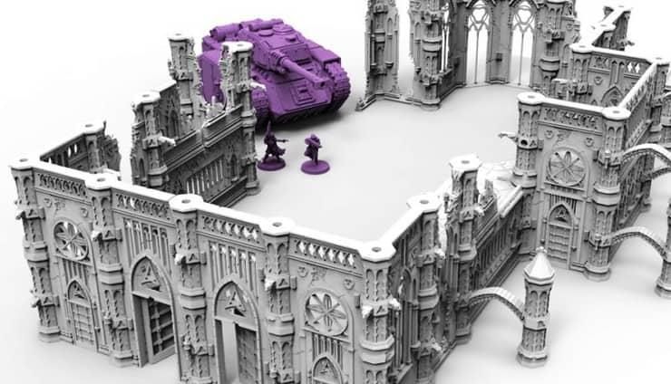 Rampart Terrain Kickstarter