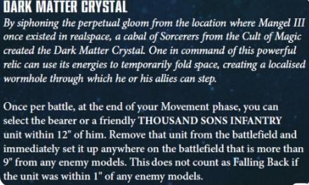 dark matter crystal