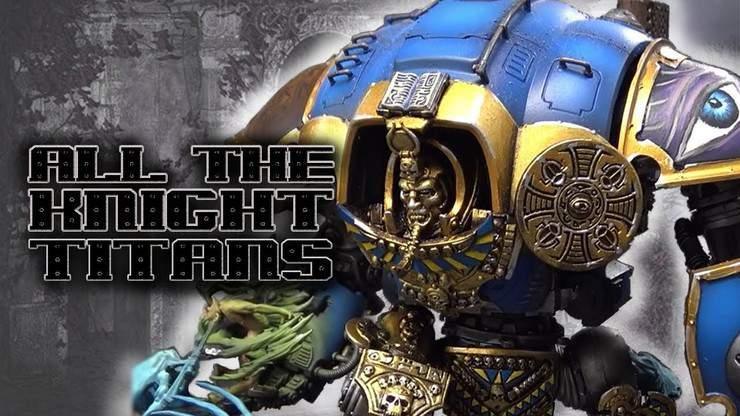 Knights, Knights Everywhere! Showcase