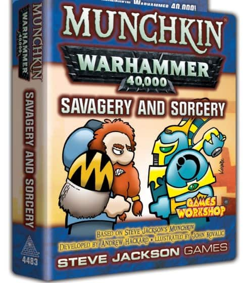 40k Munchkin Cards & 2 New Expansions Previewed - Spikey Bits