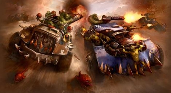 orks speed freeks speedwaaagh