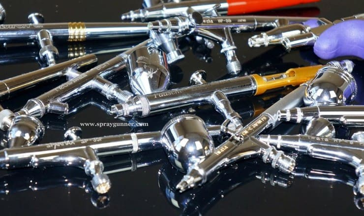 spray gunner airbrush