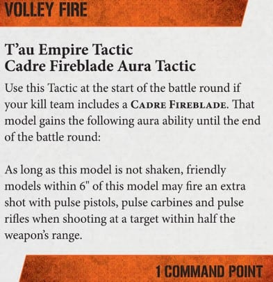 volley fire