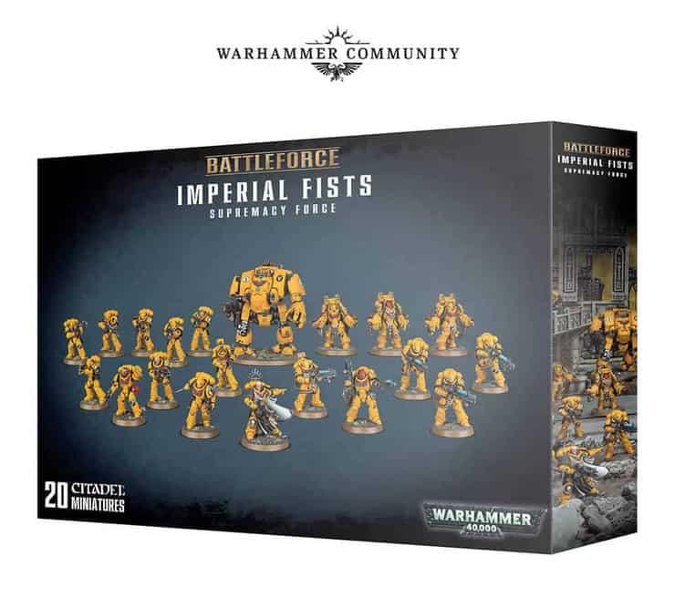 Image result for 2018 BATTLEFORCES IMPERIAL FISTS