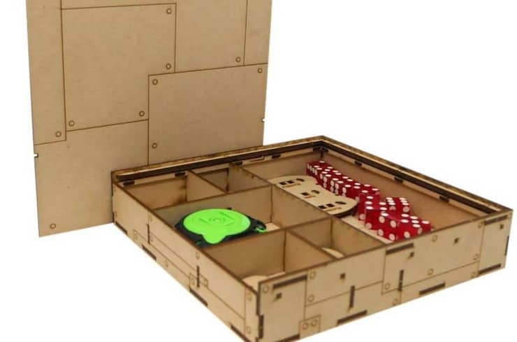 New ITC Industrial Dice Box Set From Frontline Gaming