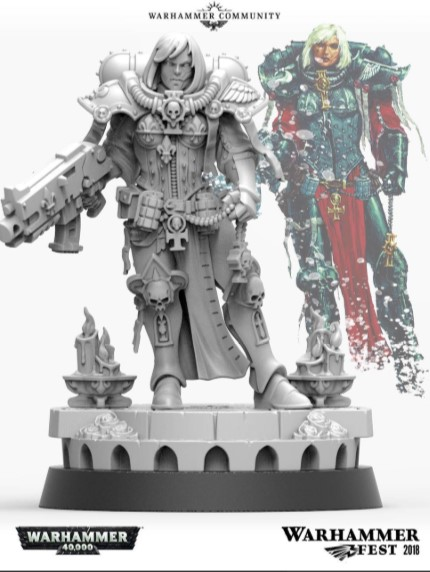 GW Announces More New Sisters of Battle For 2019 - Spikey Bits