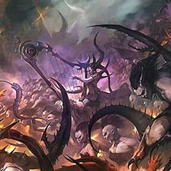 wrath & rapture slaanesh