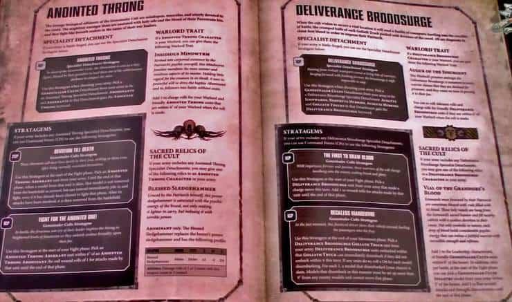 22 New 40k Vigilus Special Detachments Latest - Spikey Bits