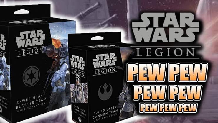 Unboxing: E-Web Blaster & Laser Cannon Star Wars Legion