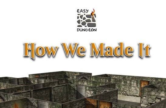 Easy Seamless Magnetic RPG Dungeon Tiles Kickstarter