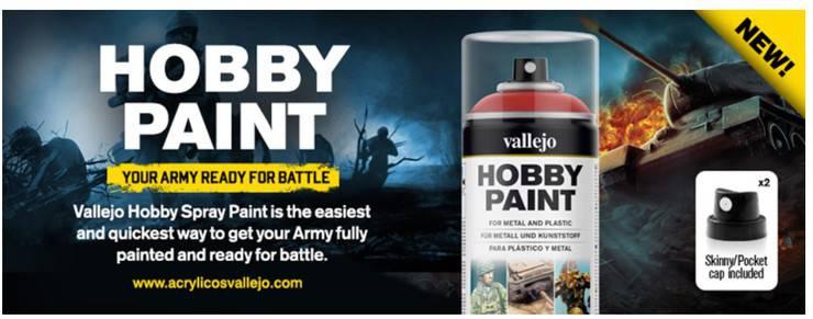 Vallejo Announces Color Match Spray Paint - Spikey Bits