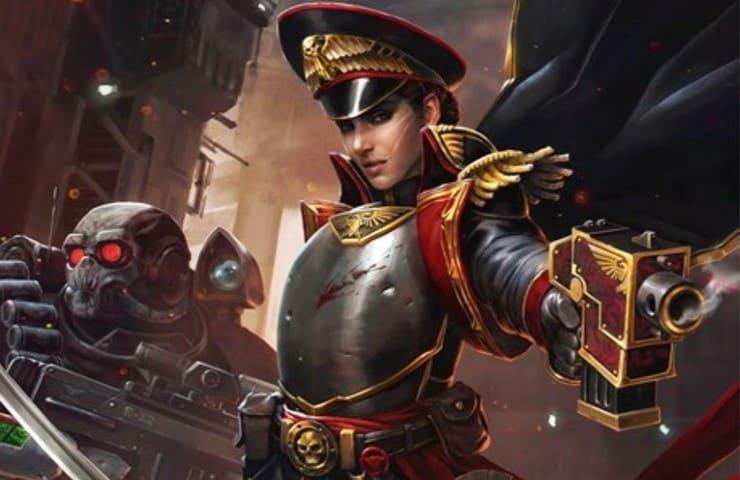 GW Reveals New Female Commissar 40k Rules