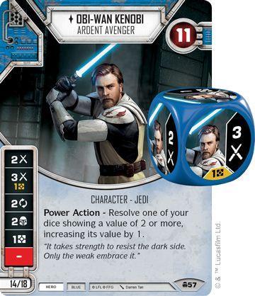 Obi Wan & Satine Kryze: Star Wars Destiny - Spikey Bits