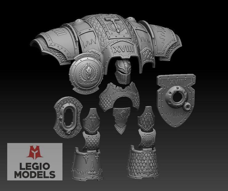 Legio Models Imperial Knight Dragon Armor Upgrade Spikey Bits Armor ryuki (dragon knight) by erickefata on deviantart. legio models imperial knight dragon