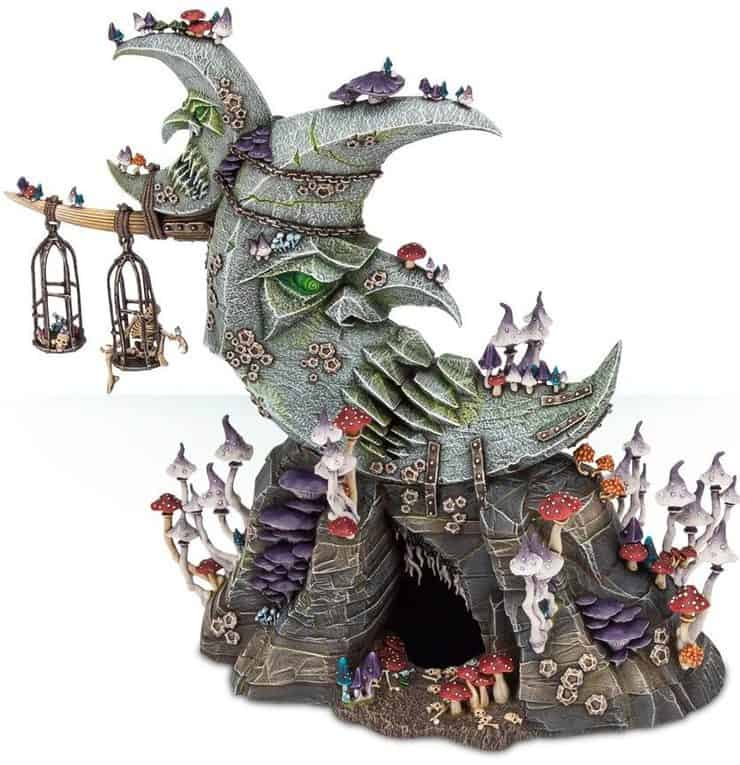 New Age of Sigmar Terrain Pieces SPOTTED Plus More New