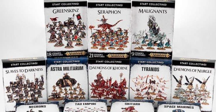 Games Workshop Warhammer 40K Start Collecting Skitarii Boxed Set
