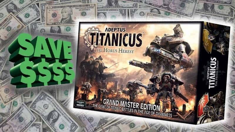New Value: Adeptus Titanicus Grandmaster Edition Review