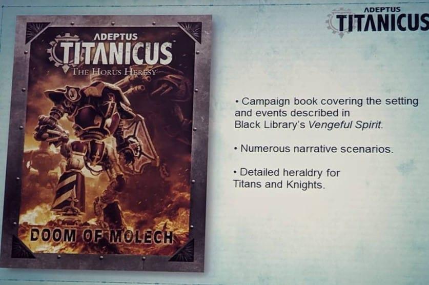 Doom of Molech: New Titan & Knight Previews SPOTTED - Spikey
