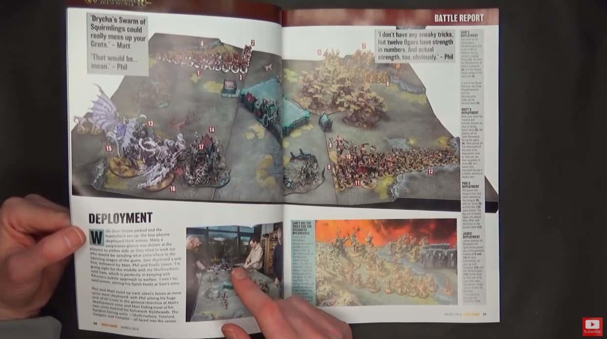 Sylvaneth VS Beastclaw Battle Report! Warhammer Age of ...