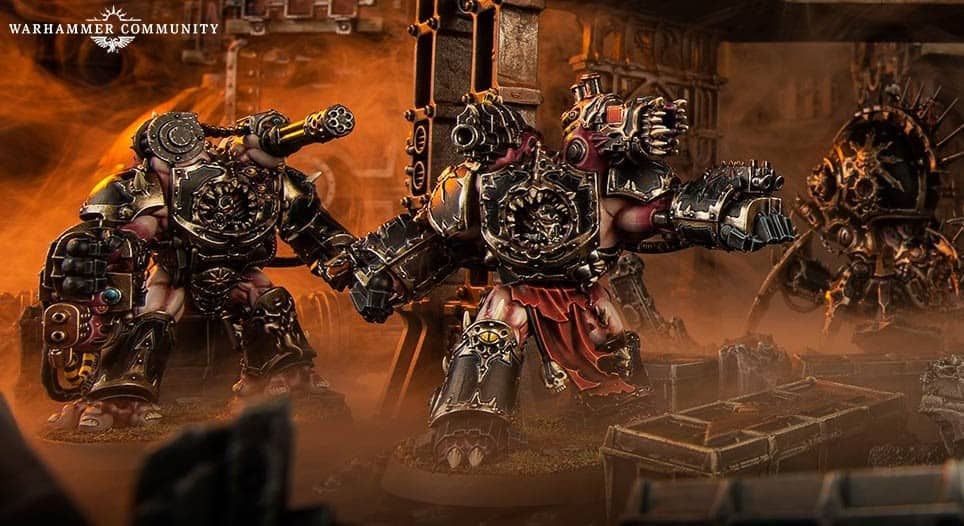 New Chaos Vigilus Iron Warriors Rules SPOTTED - Spikey Bits