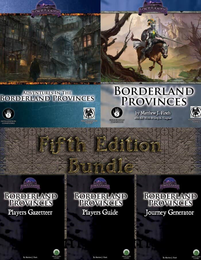 The Lost Lands 5E Bundle From Frog God Games - Spikey Bits