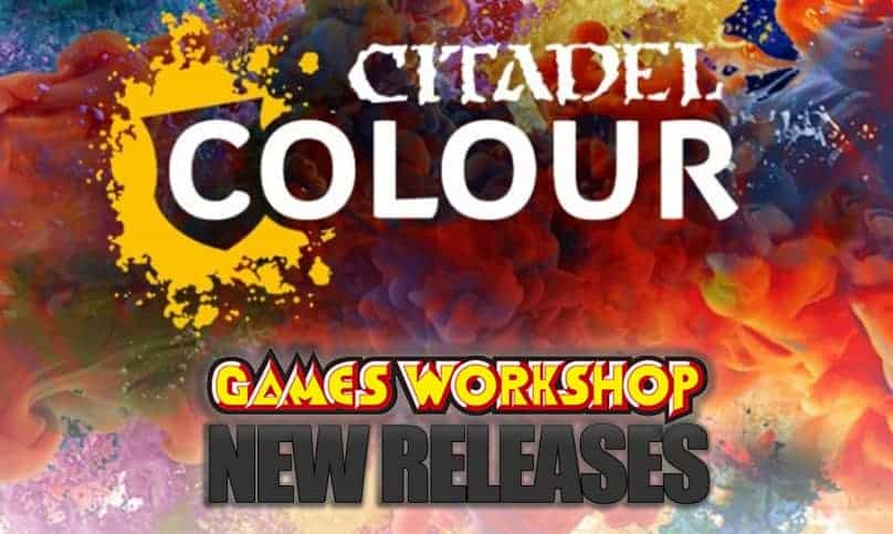 Complete List of Contrast, New & Discontinued Citadel Paints