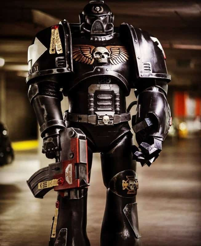 40k Cosplay Done Right: 2 Sets of Space Marine Armor! - Spikey Bits