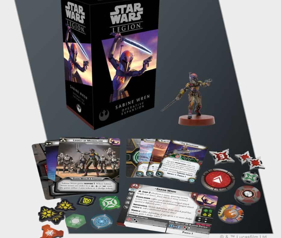 FFG Reveals Star Wars Legion: Sabine Wren Expansion - Spikey