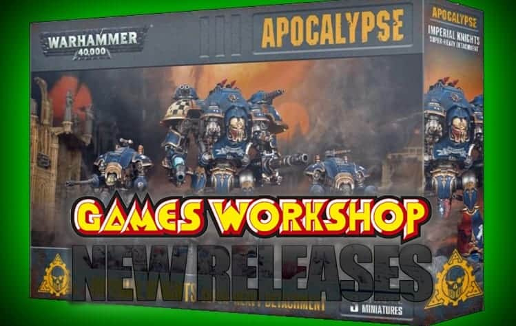 GW's Next Week Releases: 40k Apocalypse Prices & Lineup - Spikey Bits