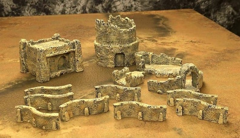 Pre-Painted Terrain For Any Game From Gamemat EU - Spikey Bits