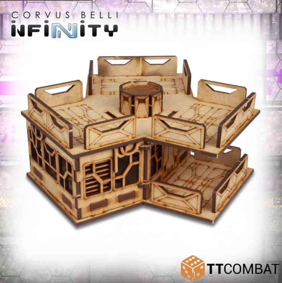 New Infinity Terrain From TT Combat! - Spikey Bits