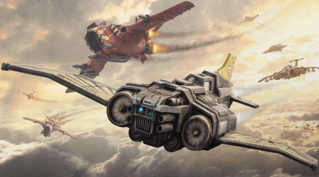 Aeronautica Imperialis AI wal