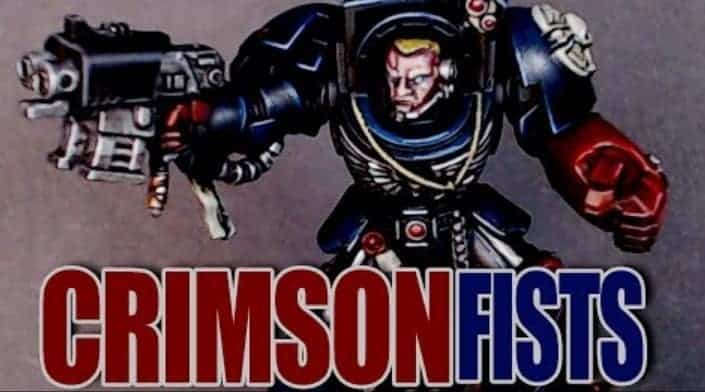 How to Paint Crimson Fists