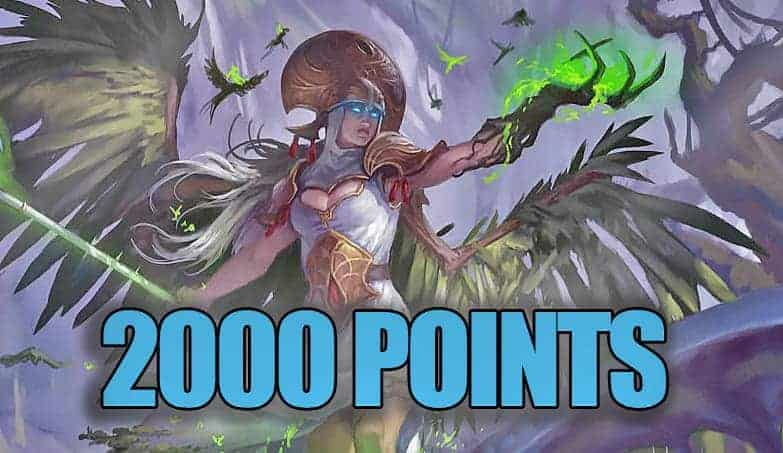 Playing Age of Sigmar Sylvaneth at 2000 Points!
