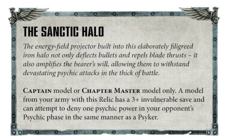 Ultramarines Psychic, Stratagem, & Traits Rules SPOTTED! - Spikey Bits