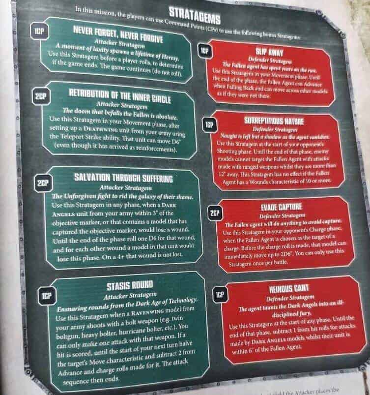 New Dark Angels WD Rules & Background SPOTTED - Spikey Bits