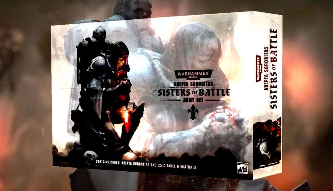sisters of battle army box