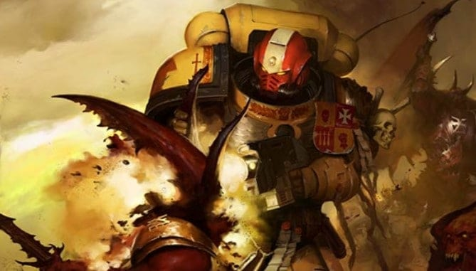 imperial fist space marine wal
